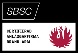 SBSC – Certifierad anläggningsfirma brandlarm